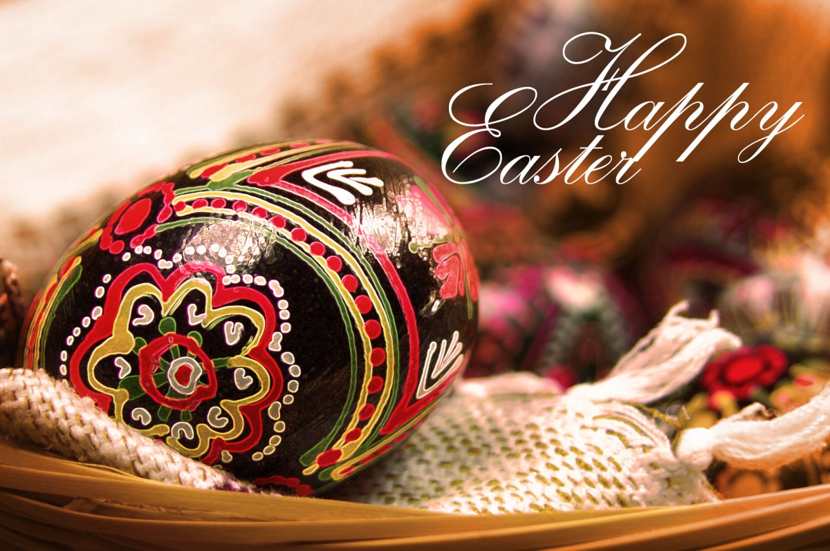 Postcard: Happy Easter