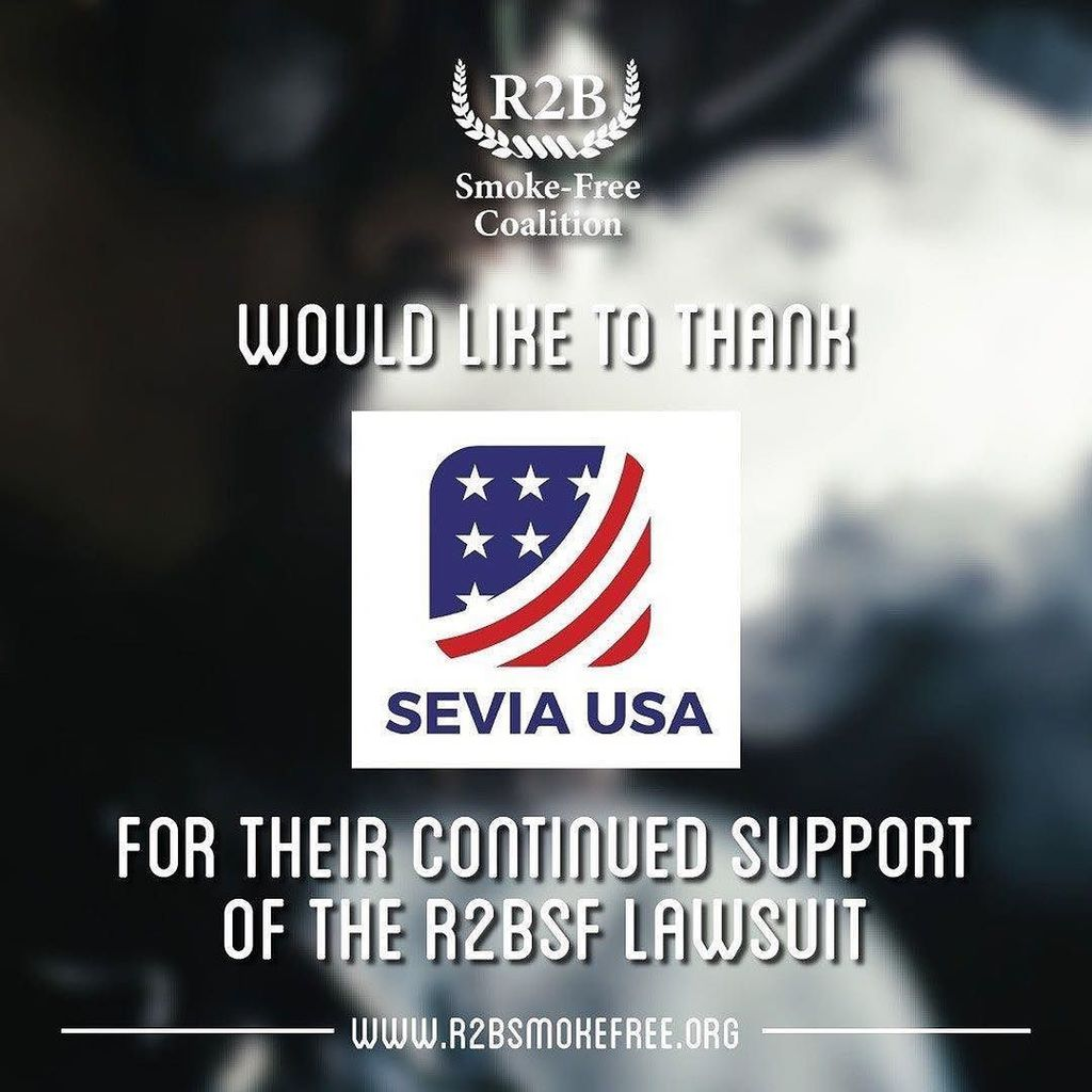 THE R2B SMOKE FREE COALITION THANKS SEVIA-USA